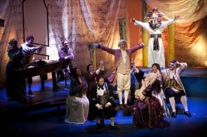 Blackbird Theater's 2013 production of AMADEUS